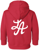 HOT ROD SIGNATURE LA TODDLER PULLOVER HOODIE (RED)