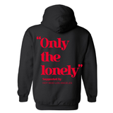 HOT ROD X ONLY THE LONELY HOODIE (BLACK/RED)