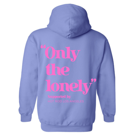 HOT ROD X ONLY THE LONELY HOODIE (BLUE/PINK)