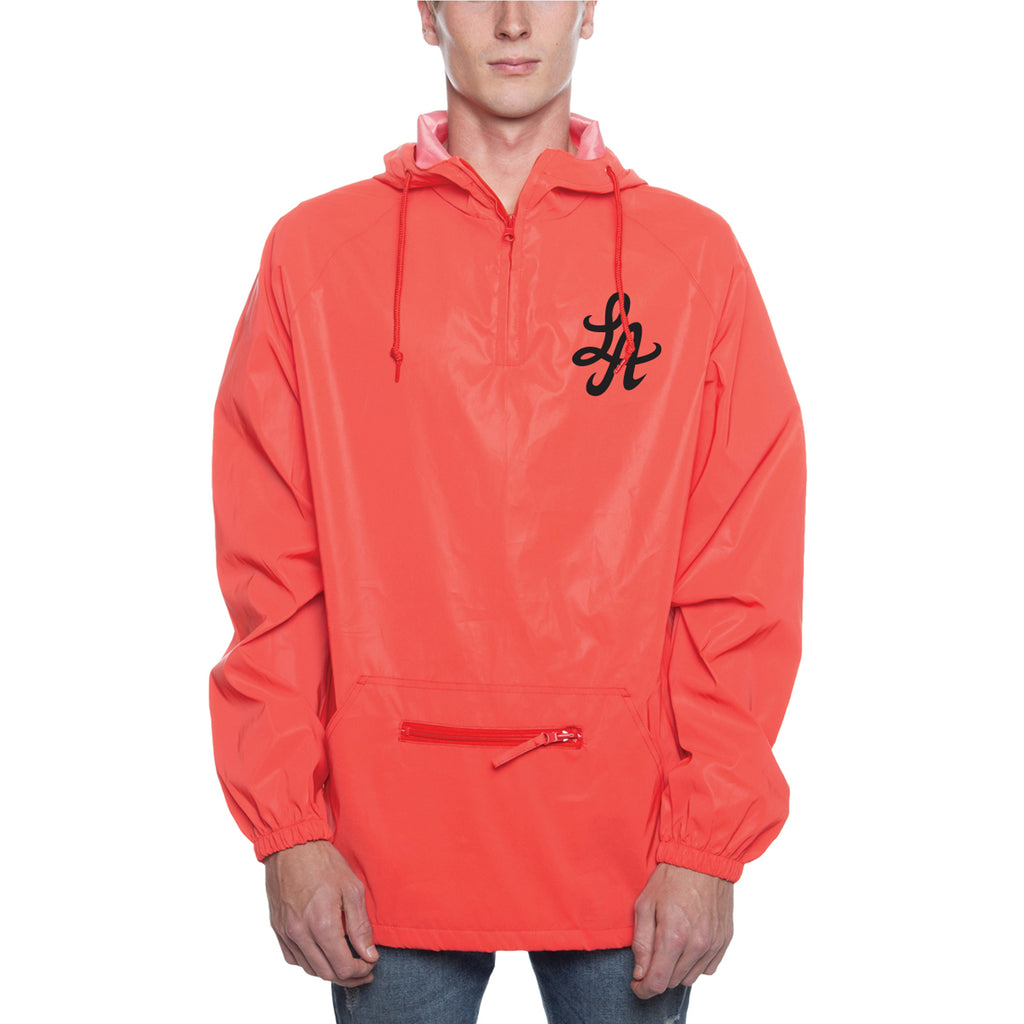 HOT ROD REFLECTIVE ANORAK HOODIE  (INFRARED)