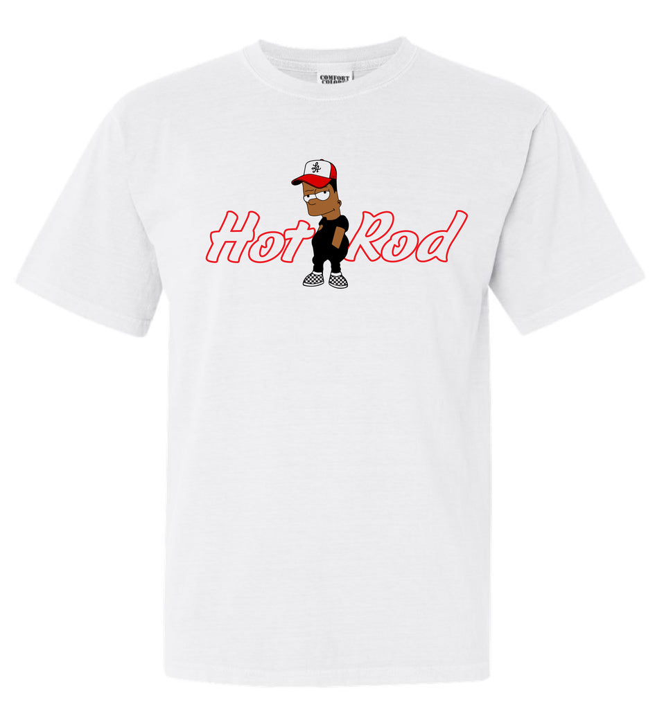 "HOT ROD ""SUP SIDEWALK SALE"" RAFFLE TEE (WHITE)"