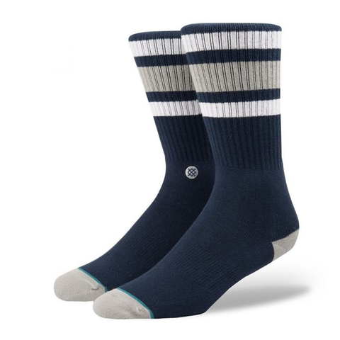 Stance Boyd 4 Socks White (Red/Blue)