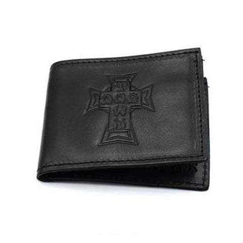 DOGTOWN LEATHER BILLFOLD WALLET