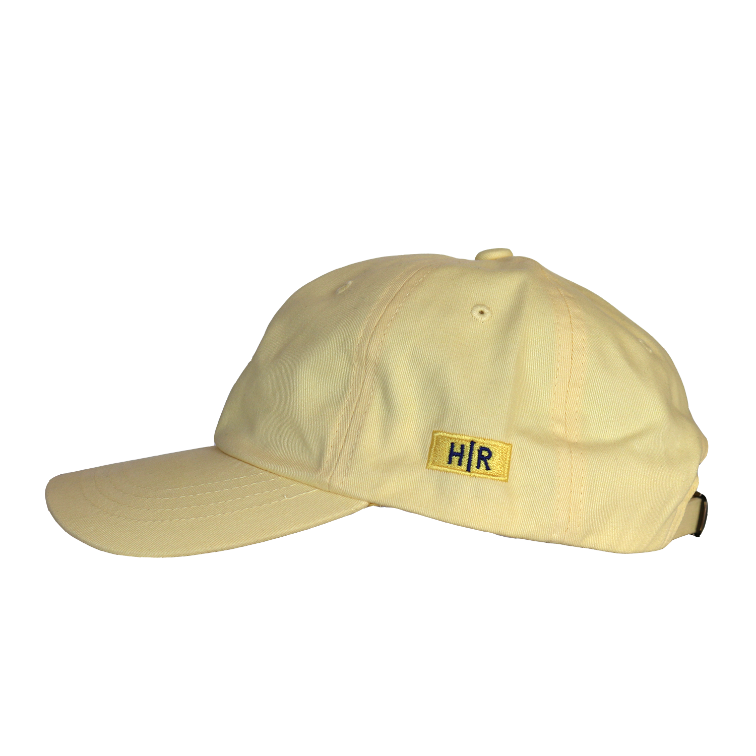Hot Rod 6-Panel Adjustable Strap Cap (Yellow/Blue)