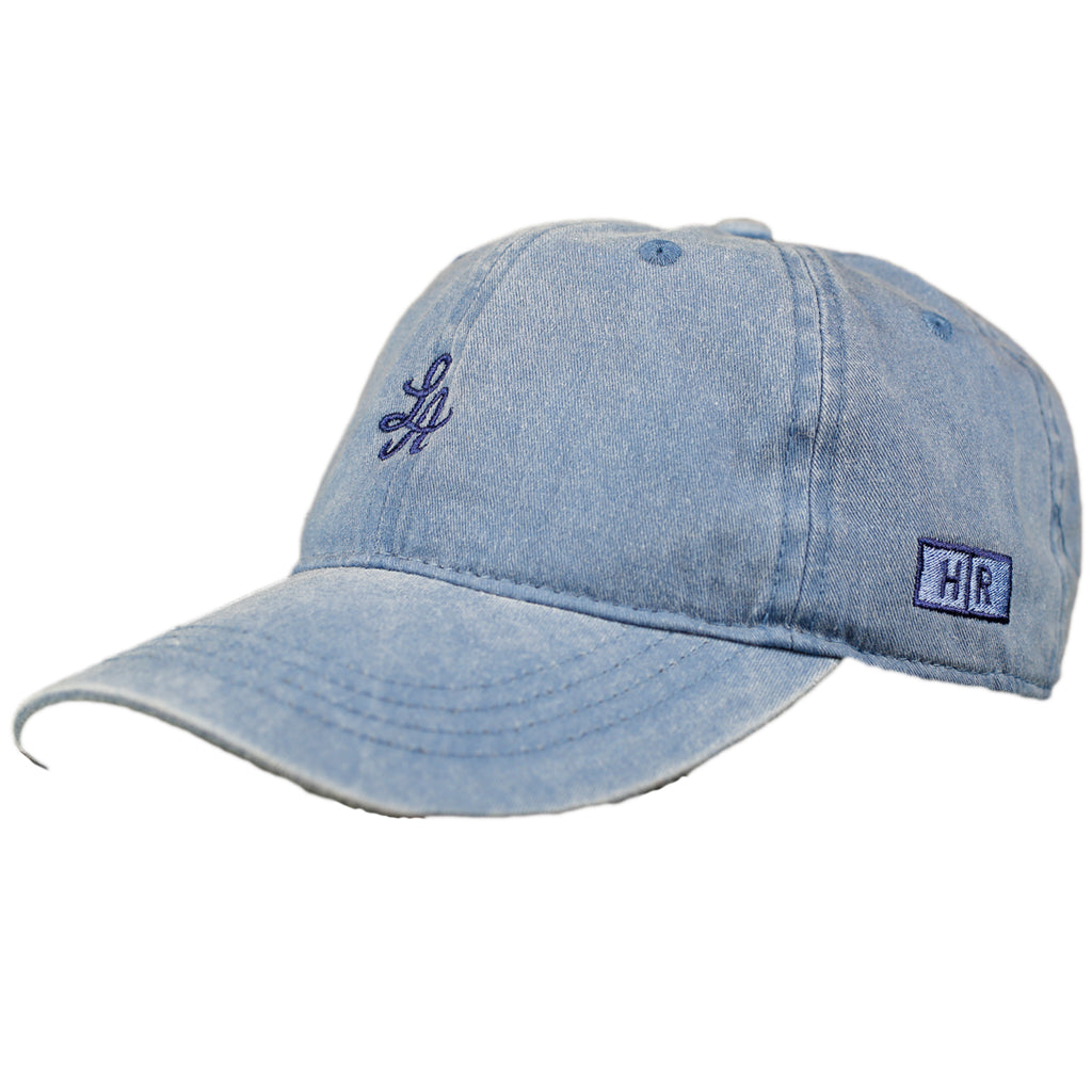 Hot Rod 6-Panel Adjustable Strap Cap (Denim Blue)