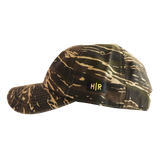 Hot Rod 6-Panel Adjustable Strap Cap (Camo/Yellow)