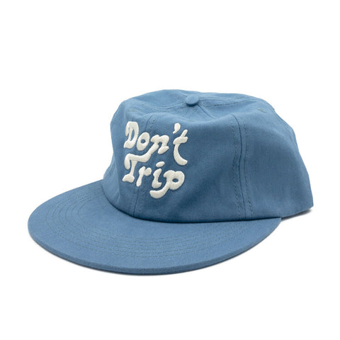 FREE AND EASY DON'T TRIP UNSTRUCTURED HAT (POWDER BLUE)