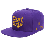FREE AND EASY DON'T TRIP LA OG SNAPBACK HAT