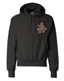 HOTROD SIGNATURE LA CHAMPION REVERSE WEAVE HOODIE (BLACK/PURPLE)