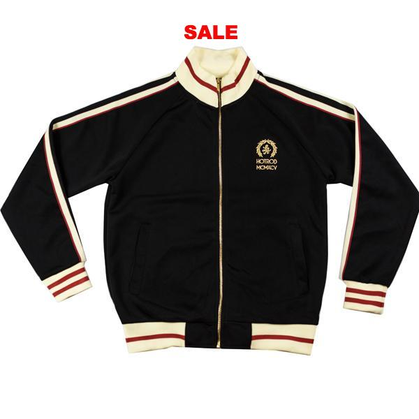 "HOT ROD ""LA"" CREST TRACKSUIT BLACK"