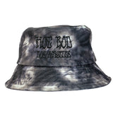 BOOTLEG YOUR FACE EMBROIDERED BUCKET HAT (BLACK SMOKE)