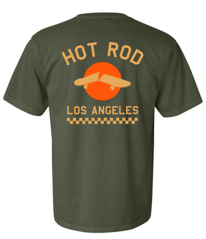"HOT ROD ""WE USED TO BE A SKATE SHOP"" (WASHED HEMP)"