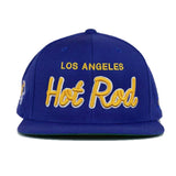 Hot Rod  Snapback (Royal Blue/Gold/White)