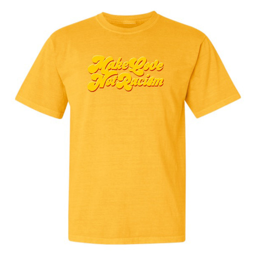 ONLY THE LONELY MAKE LOVE TEE (WASHED CITRUS)