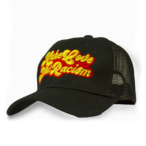 "HOT ROD ""AUGUST NIGHTS"" EMBROIDERED 5-PANEL DECONSTRUCTED HAT (BLACK)"