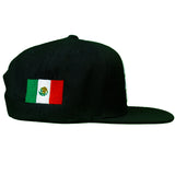 HOT ROD SIGNATURE LA SNAPBACK HAT GLOBAL COLLECTION MEXICO (BLACK/WHITE)