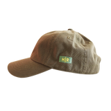 Hot Rod 6-Panel Adjustable Strap Cap (Olive/Yellow)