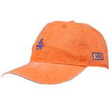 Hot Rod 6-Panel Adjustable Strap Cap (Orange)