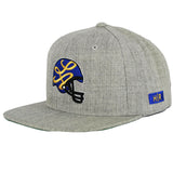 HOT ROD RAMS SNAPBACK (GREY/ROYAL BLUE/GOLD)