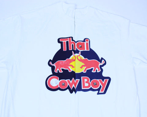 "THAI COWBOY ""KRATING DAENG"" COTTON TEE"