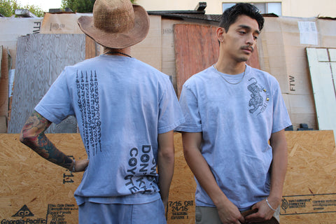 "THAI COWBOY ""REVOLVER GREY"" SHORT SLEEVE TEE"