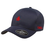 HOT ROD DELTA CAP FLEXFIT (NAVY)