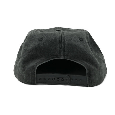 FREE AND EASY DON'T TRIP WASHED SNAPBACK HAT (WASHED BLACK)