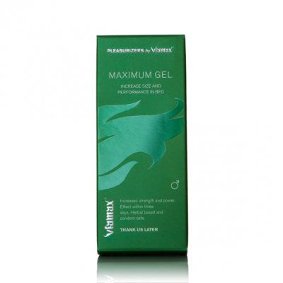 Viamax Maximum gel 50 ml. - Unaðskrem - 1