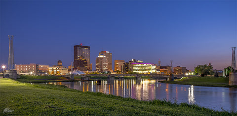 Dayton City Skyline