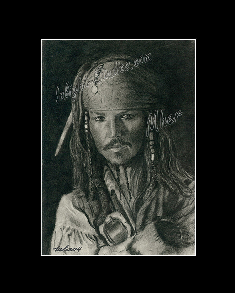 Jack Sparrow, Johnny Depp.