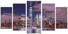 Load image into Gallery viewer, New York (5 Panel Split)