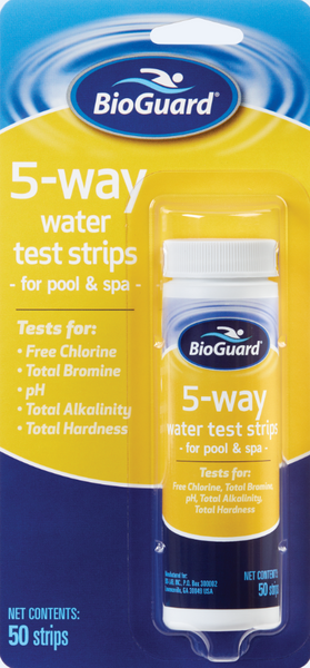 BioGuard 5-Way Test Strips