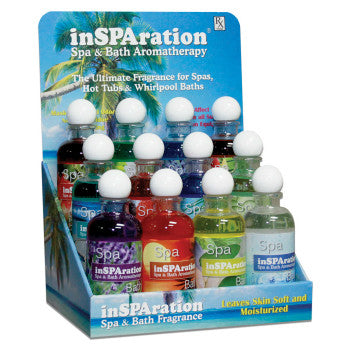 inSPAration 9 oz Hot Tub Aromatherapy Fragrance