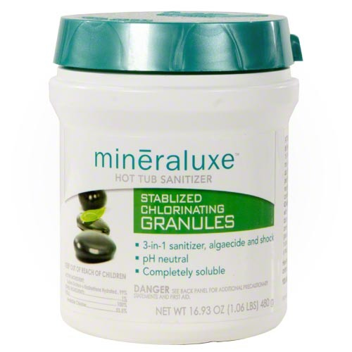 Mineraluxe Stabilized Chlorinating Granules 1.06 Lb Bottle