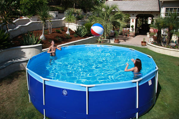 "Splash-A-Round Pools Summer Breeze 18' X 52"" Round Soft Sided Pool"