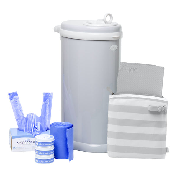 diaper pail gift set