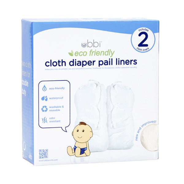 cloth diaper pail liner twin pack