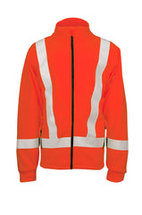 Orange Briteline™ Fleece Jacket