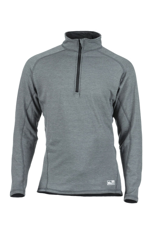 Dual Hazard Power Grid™ 1/4 Zip Top (Grey)