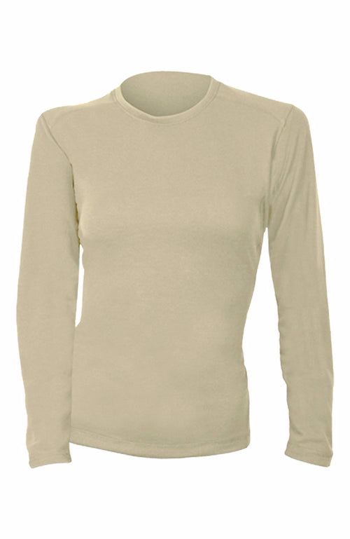 Power Dry® FR Shirt - Women's Long Sleeve (Tan)