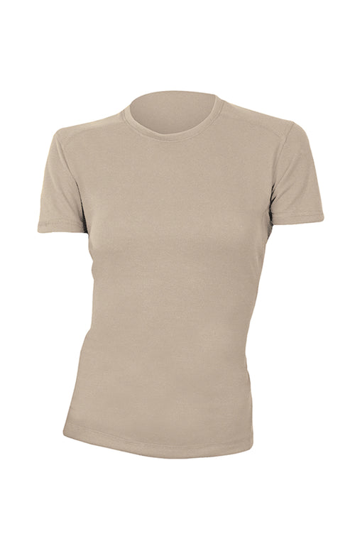 Power Dry® FR T-Shirt - Women's Short Sleeve (Tan)