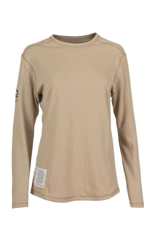 Power Dry® Dual Hazard Shirt Women's LS (Tan)