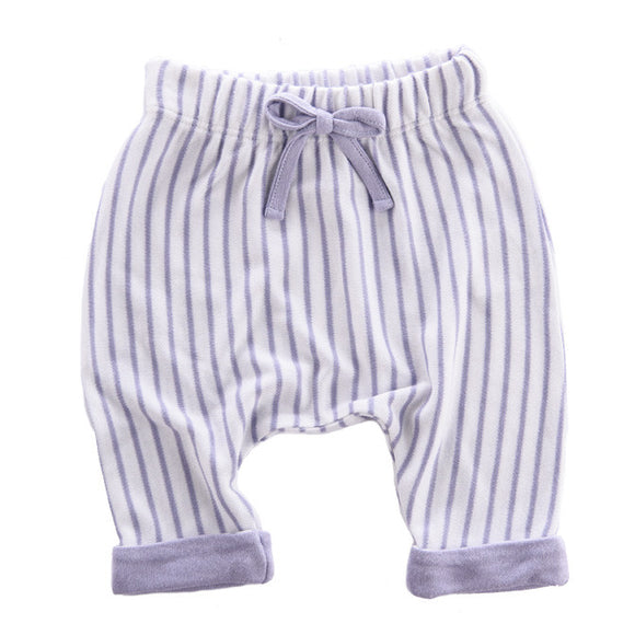 Pants Bambus Lavender Stripes