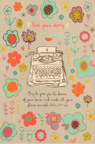 Live Your Story YesterBoard Prayer Journal  - St. Patrick's Gift Shop & Bookstore