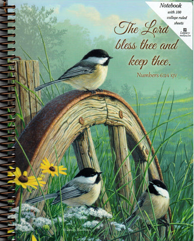 Spiral Notebook - The Lord Bless Thee  - St. Patrick's Gift Shop & Bookstore