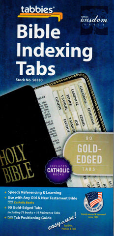 Bible Indexing Tabs Regular Size  - St. Patrick's Gift Shop & Bookstore