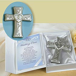 Small Wedding Cross with Card  - St. Patrick's Gift Shop & Bookstore