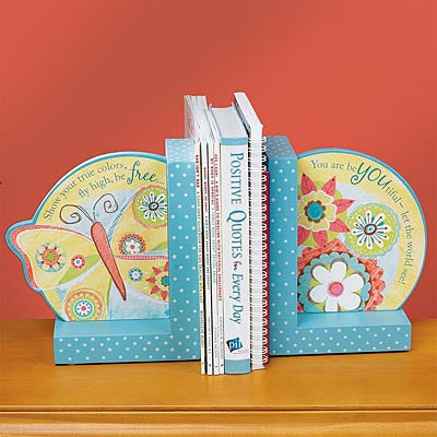 Butterfly Bookends  - St. Patrick's Gift Shop & Bookstore