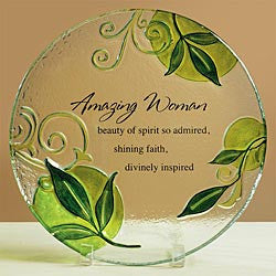 Amazing Woman Platter  - St. Patrick's Gift Shop & Bookstore