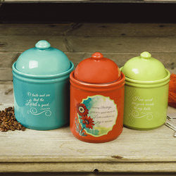 Woman of Faith Canister Set  - St. Patrick's Gift Shop & Bookstore